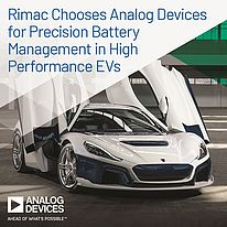 Rimac sceglie i circuiti integrati di precisione di Analog Devices