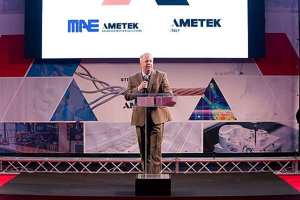 Matt French - general manager divisione Advanced Motion Solution di Ametek