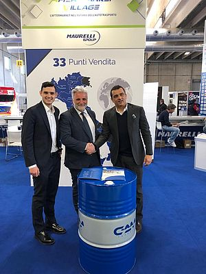 Siglato l'accordo tra Maurelli Group e Gazpromneft Lubricants Italia