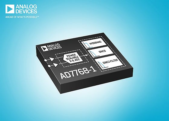 Il convertitore AD7768-1 di Analog Devices
