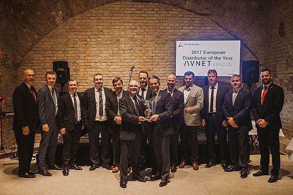 Avnet Abacus Distributor of the Year Molex 2018