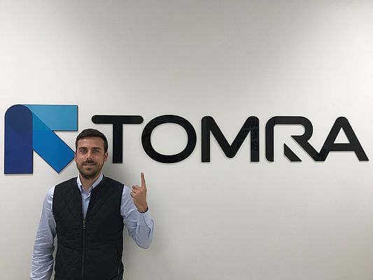 Alessandro Granziera, Area Sales Manager di TOMRA Sorting Recycling