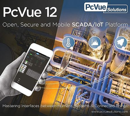 PcVue12 di ARC Informatique è un software SCADA open platform