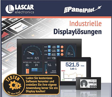 Industrielle Displaylösungen