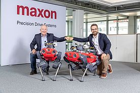 maxon schließt strategische Partnerschaft mit Robotik-Start-up