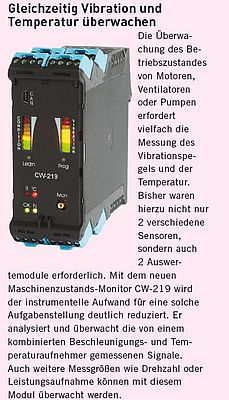 Maschinenzustands-Monitor CW-219