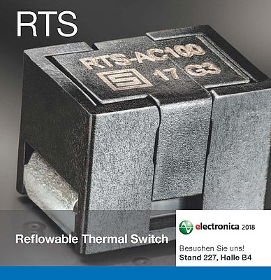 Reflowable Thermo Switch