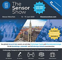 The Sensor Show - Early Bird Rate vor dem 20. April
