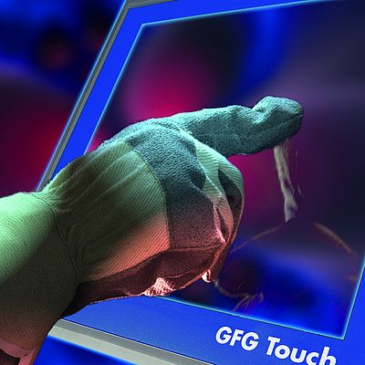 Optimierte resistive Touchscreens
