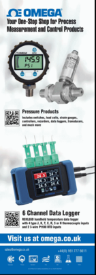 Omega; Your one -stop Shop for Process Measurement and Control Products