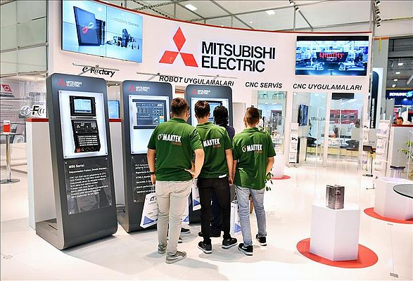 Makine Sektörü Mitsubishi Electric'in Akıllı Üretim