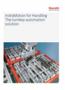 IndraMotion for Handling the turnkey automation solution