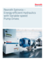 Rexroth Sytronix-Energy-efficient Hydraulics with variable-speed Pump Drives