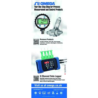Omega; Your One-Stop Shop for Process Measurement and Control Products