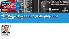 Connection Days'e Bosch Rexroth katılıyor
