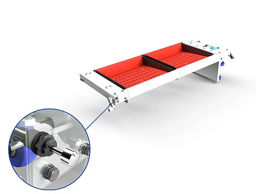 Split Tray Sorter Alternative