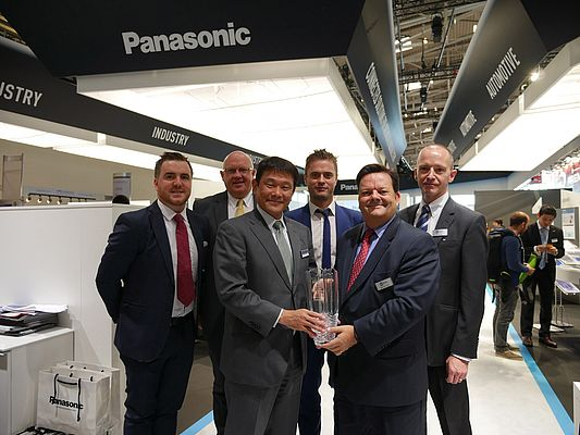 Mouser Electronics is Panasonic's High Service Distributor of the Year