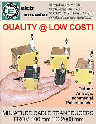 Miniature cable transducers