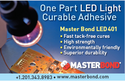 LED Curable Adhesive