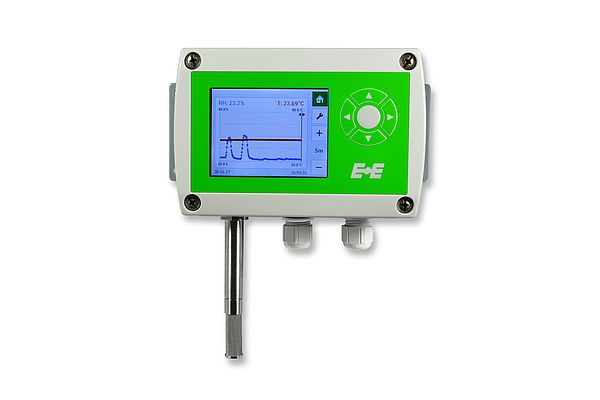 EE310 humidity and temperature transmitter (wall mount)