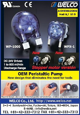 Peristaltic pump WP-1000 and WPX-1