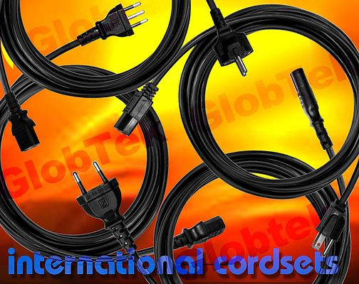 detachable power cords