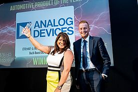Analog Devices Gains Prestigious British Industry Award for automotive power management product