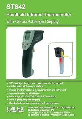 Infrared thermometer ST642