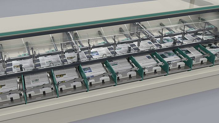 Sheet verification is mainly used in gathering machines and folding machines for postpress finishing.