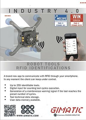 Robot Tools RFID Identifications