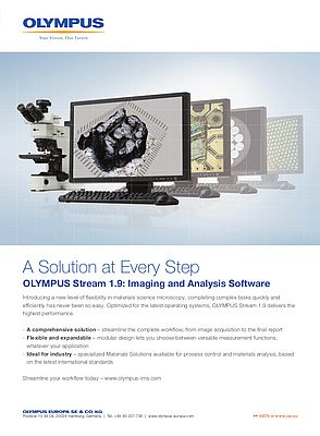 Imaging and Analysis Software