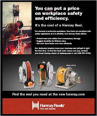 Reels for workplace safety and efficiency