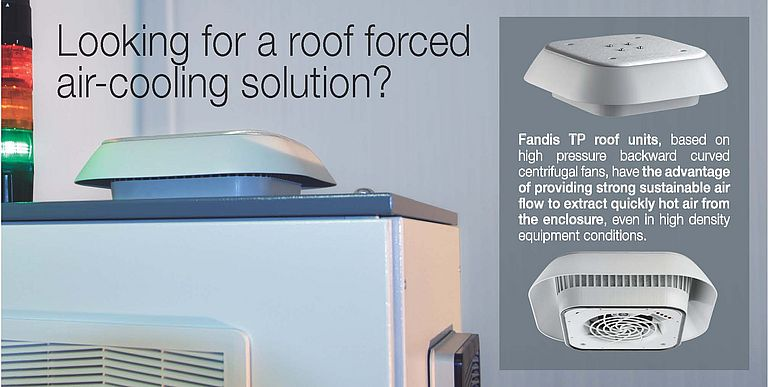 Roof Forced Air-cooling Solution