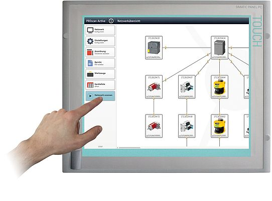 Profinet Network Scanning Software