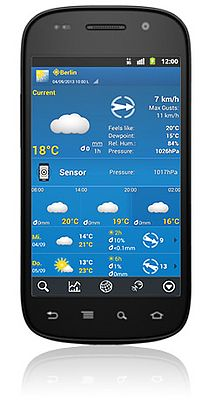 Precise Weather Forecast Thanks To Sensor Support