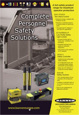 Complete personnel safety solutions