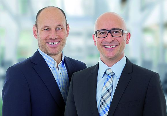 Jürgen Hartmann and Torsten Wiesinger are keeping IDS on a steady growth track.