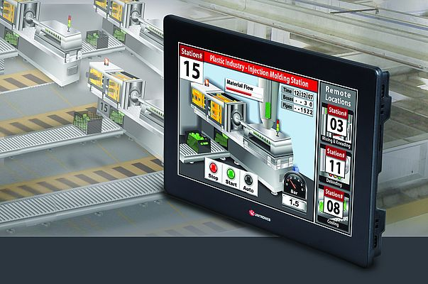"The 15.6"" control panel from the Unistream series is a PLC and HMI in one."