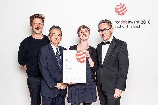 Mitsubishi Electric has Received the Red Dot Design Awards for its Interactive Robot