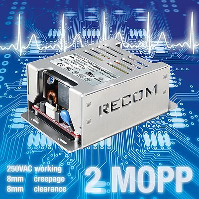 AC/DC Power Supplies RACM100 and RACM150