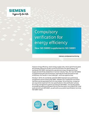 Compulsory Verification for Energy Efficiency