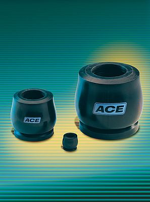 The TUBUS TA series: This type of profile damper from ACE is reversible, and absorbs the generated energy with a declining characteristic line.