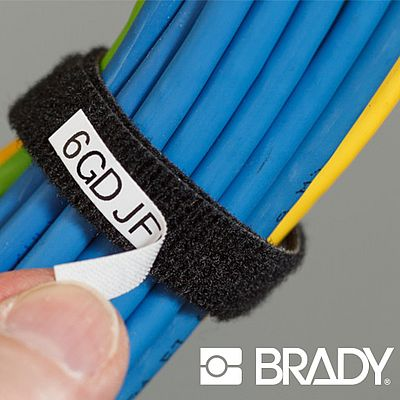 The new BradyGrip™ Print-on Hook Material