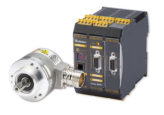 Sendix SIL encoder and Safety-M module SP1 form an effective system for Functional Safety.