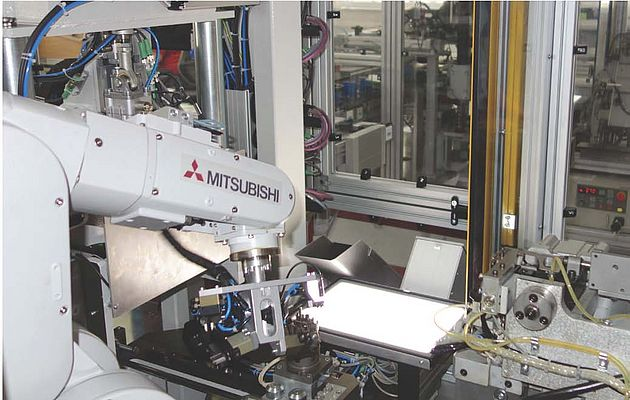 Wire Bending Machinery Benefits from Mitsubishi Electric F Series Robot Solution