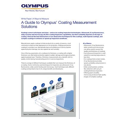 A Guide to Olympus' Coating Measurement