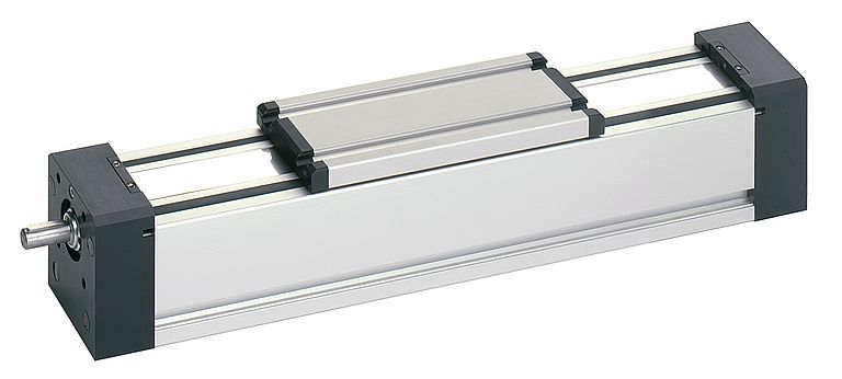 The encapsulated RK Duoline linear unit with spindle drive.