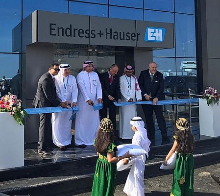 Endress+Hauser Opens Calibration and Training Center in Saudi Arabia