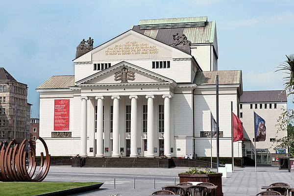 Plays, ballets, operas and concerts are staged at Theater Duisburg