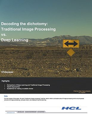 Traditional Image Processing vs. Deep Learning